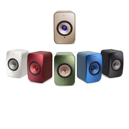 KEF LSX Wireless Musik-System  -  Aktiv-Lautsprecher