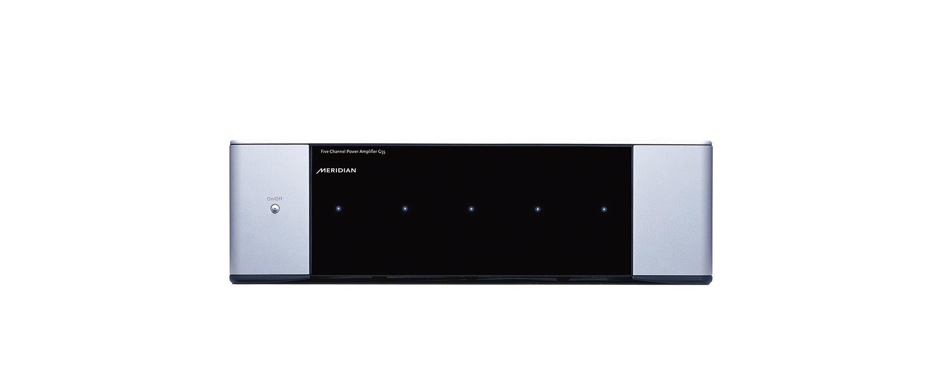 meridian g55 5 kanal endstufe produktdetail. Black Bedroom Furniture Sets. Home Design Ideas