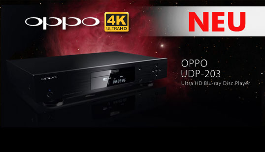 OPPO UDP-203 4K/Ultra HD Blu-Ray Player