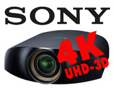 SONY 4K-UHD-3D Projektoren