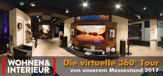 Virtuelle Tour Messe 2017 Wohnen und Interieur