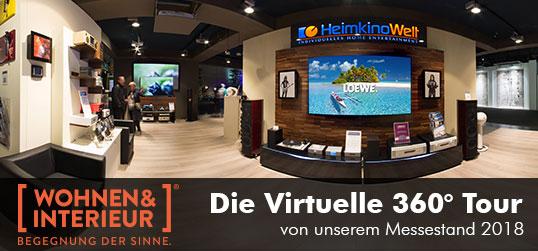 Virtuelle Tour Messe 2018 Wohnen und Interieur
