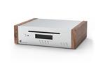 Pro-Ject CD-Box DS2 Holz - High-End Audio CD Laufwerk DAC (Silber-Walnuss)
